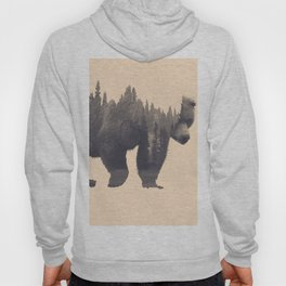 forest in the bear Hoody