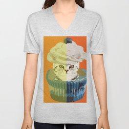 Cupcake Surprise Unisex V-Neck