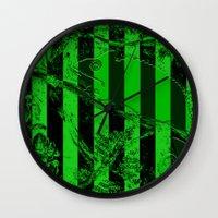 waldo Wall Clocks featuring WALDO by Ken Forst