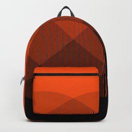 Orange to Black Ombre Signal Backpack