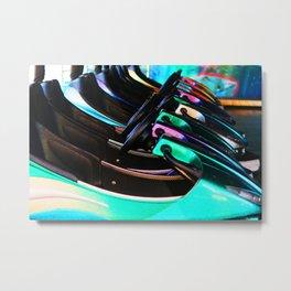 Autoscooter Metal Print