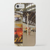 milan iPhone & iPod Cases featuring milan glitch by Martin Summers