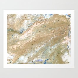 Sea of Gold Art Print