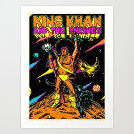 King Khan and the Shrines Art Print