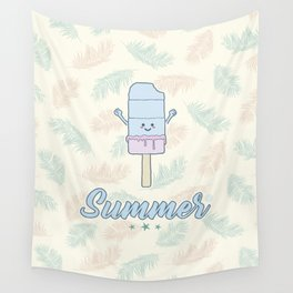 Summer Popsicle Wall Tapestry