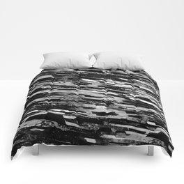 paradigm shift (monochrome series) Comforters