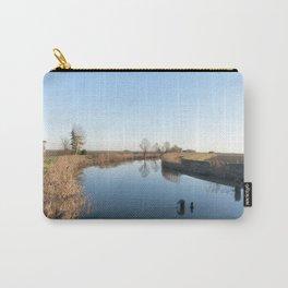 A blue river landscape Carry-All Pouch