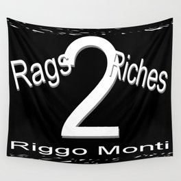Riggo Monti Design #19 - Rags 2 Riches Wall Tapestry