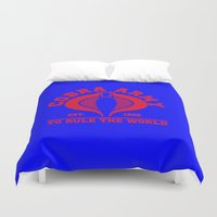 army Duvet Covers featuring Cobra army by CarloJ1956