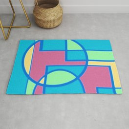 Roads and Roundabouts Rug