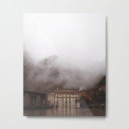 Monserrat in the Clouds (Spain) Metal Print