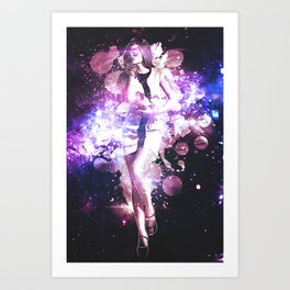 Purple Cosmo Art Print