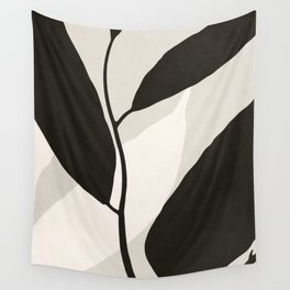 ABSTRACT ART - TROPICAL LEAVES 02 Wall Tapestry
