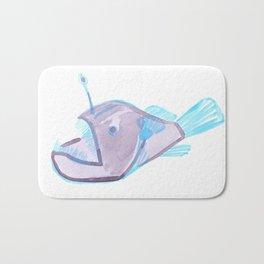 angler fish Bath Mat