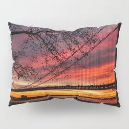 Sunrise at the Bridge Pillow Sham