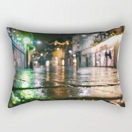 wet brickroad Rectangular Pillow