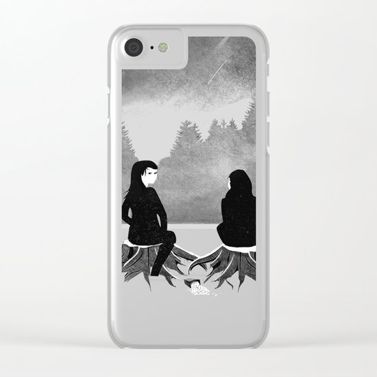 For your Pleasure Clear iPhone Case