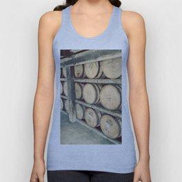 Kentucky Bourbon Barrels Color Photo Unisex Tank Top