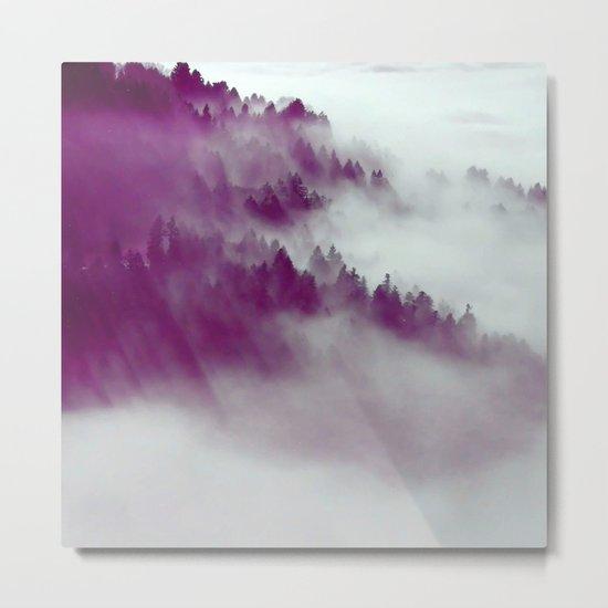 Forest Fog #society6 #decor #buyart Metal Print