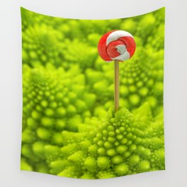 Romanesco Lollipop Wall Tapestry