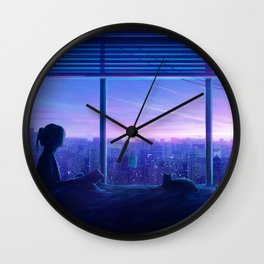 Inspire Original Artwork Wall Clock