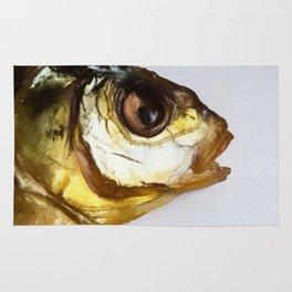 Dried Smoked Fish Head Rug