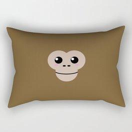 Baby Monkey. Kids & Puppies Rectangular Pillow