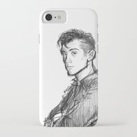 alex turner iPhone & iPod Cases featuring alex turner [2] by roanne Q