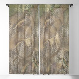 Three of Pentacles Blackout Curtain