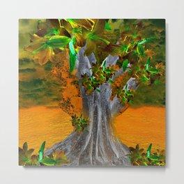 TREE OF YESTERDAY Metal Print