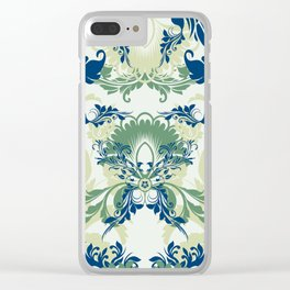 floral ornaments pattern lsi Clear iPhone Case