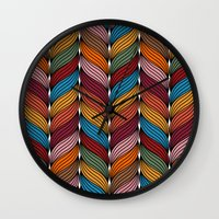 hipster Wall Clocks featuring Hipster by Rceeh