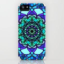 Beautiful mandala pattern iPhone Case