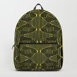 Strokes and lines long duotone Backpack