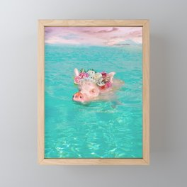 Whistle your soundtrack, daydream your future. Framed Mini Art Print