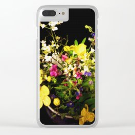 Wild and Beautiful Clear iPhone Case