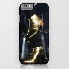 Gold Boots iPhone Case