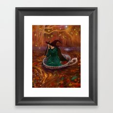The Tea Witch Framed Art Print