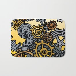 QUARTER TO FOUR Bath Mat