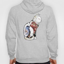 Kitsune Cat Tattoo Hoody