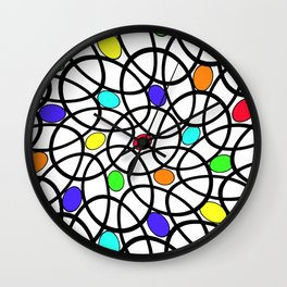 The Egg Basket Wall Clock