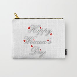 International womens day Carry-All Pouch