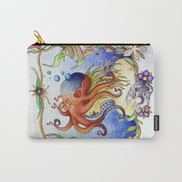 Octopus Wench Carry-All Pouch