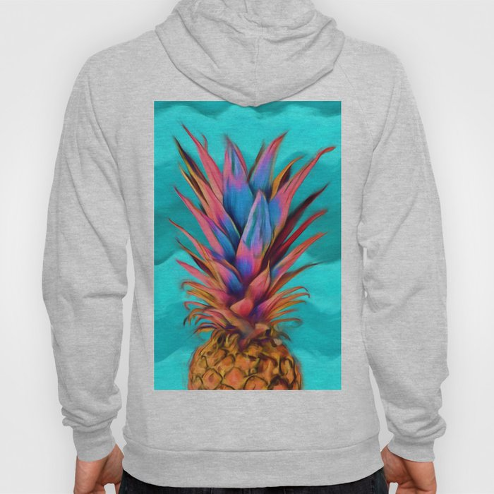 Colorful Pineapple, Ananas fruit Hoody