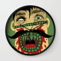 vegan Wall Clocks featuring Vegan Conversion by Skinny Gaviar