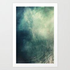 Mystical Roots Art Print