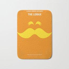 No261 My THE LORAX minimal movie poster Bath Mat