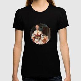 polygonal kimono impress T-shirt