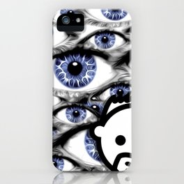 Blue Eyes HD by JC LOGAN 4 Simply Blessed iPhone Case