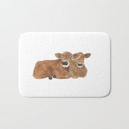Baby Cows Bath Mat